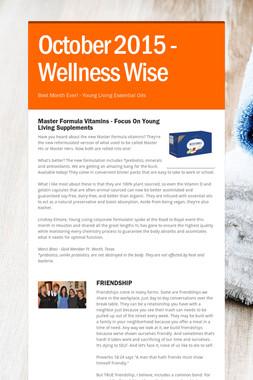 October 2015 - Wellness Wise