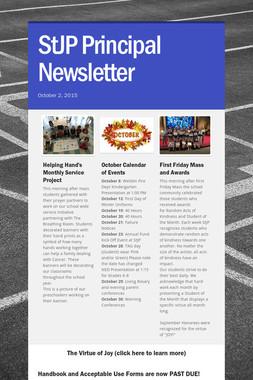StJP Principal Newsletter