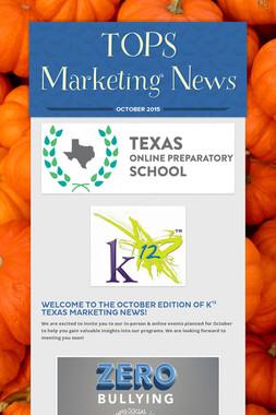 TOPS Marketing News