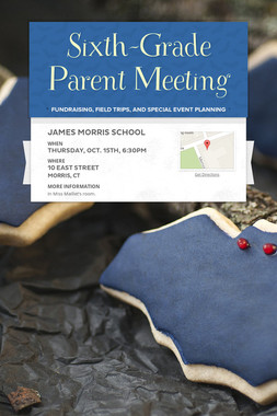 Sixth-Grade Parent Meeting