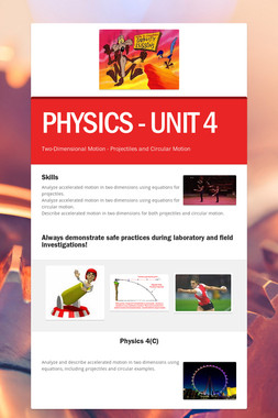 PHYSICS - UNIT 4