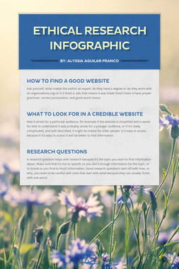 Ethical Research Infographic