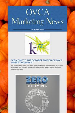 OVCA Marketing News
