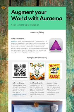 Augment your World with Aurasma