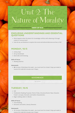 Unit 2: The Nature of Morality