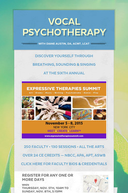 VOCAL PSYCHOTHERAPY