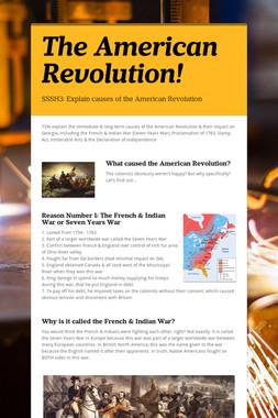 The American Revolution!