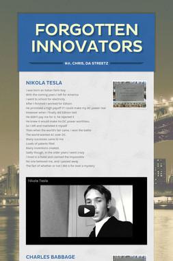 Forgotten Innovators