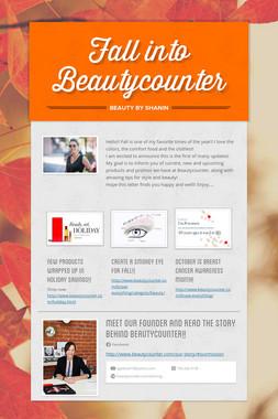 Fall into Beautycounter
