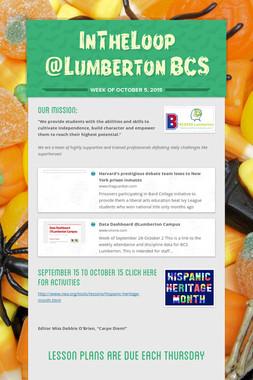 InTheLoop @Lumberton BCS