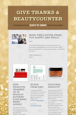 Give Thanks & Beautycounter
