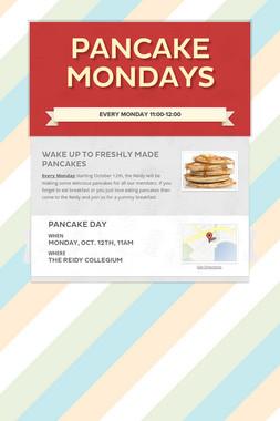 Pancake Mondays