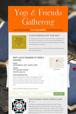 Yogi & Friends Gathering