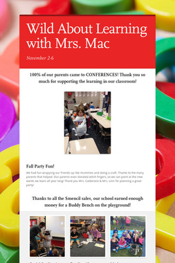 Wild About Learning with Mrs. Mac
