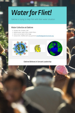 Water for Flint!
