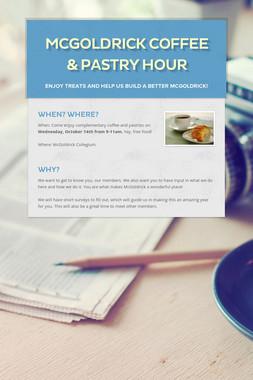 McGoldrick Coffee & Pastry Hour