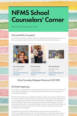 NFMS School Counselors' Corner