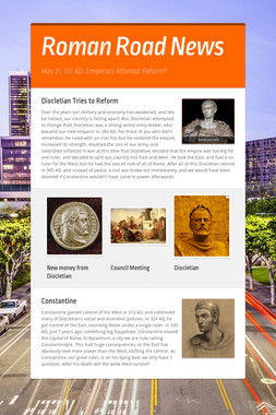 Roman Road News