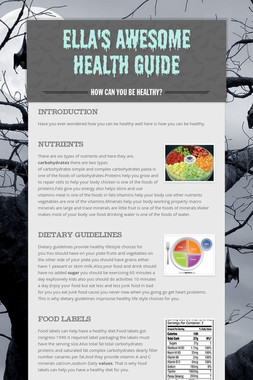 Ella's Awesome Health Guide