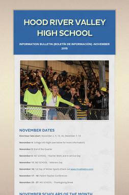Hood River Valley High School
