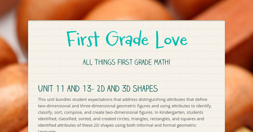 First Grade Love   Smore Newsletters