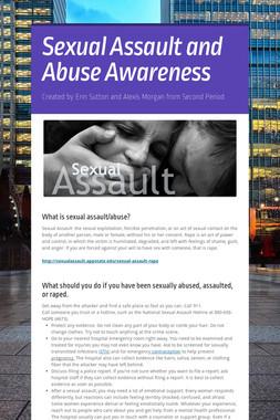 Sexual Assault and Abuse Awareness