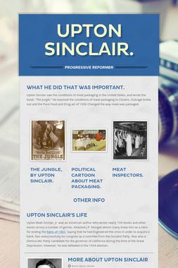 Upton Sinclair.