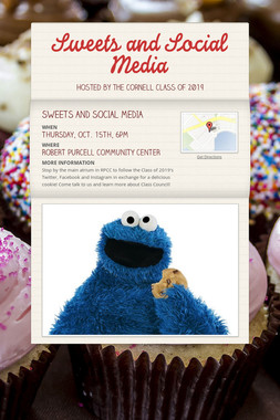 Sweets and Social Media