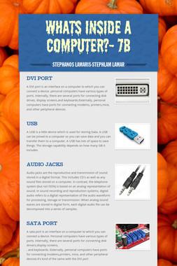 Whats inside a computer?- 7B