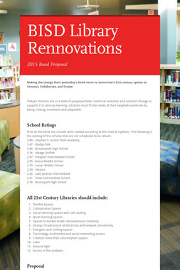 BISD Library Rennovations