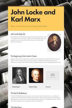 John Locke and Karl Marx