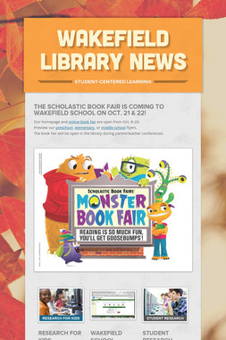Wakefield Library News