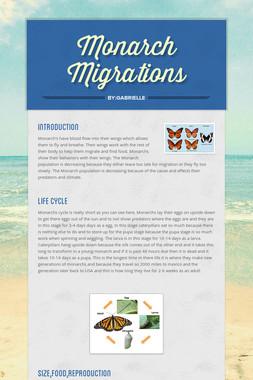 Monarch Migrations