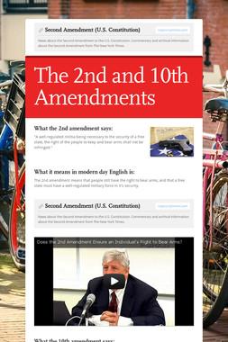Second Amendment (U.S. Constitution)