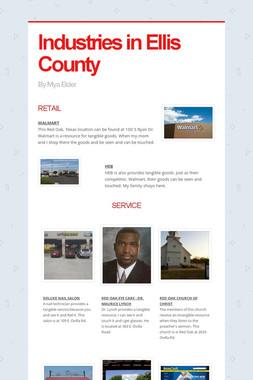 Industries in Ellis County