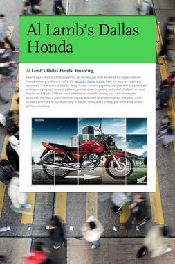 Al Lamb's Dallas Honda