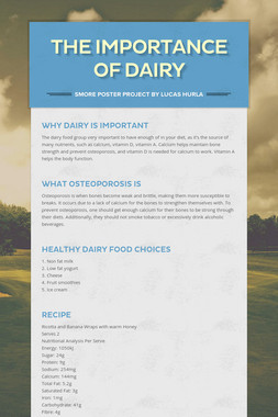 The Importance of Dairy