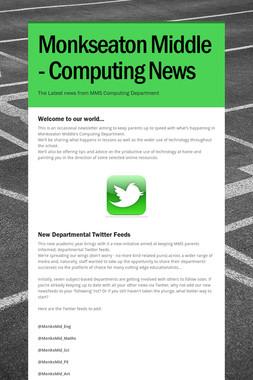 Monkseaton Middle - Computing News