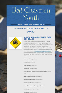 Beit Chaverim Youth