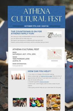 ATHENA CULTURAL FEST