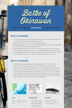 Battle of Okinawan
