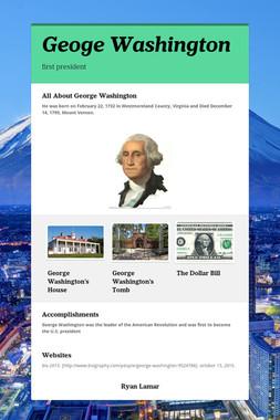 Geoge Washington