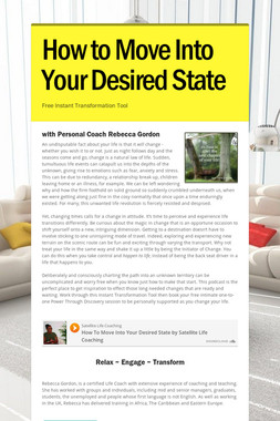 How to Move Into Your Desired State