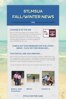 STLMSUA FALL/WINTER NEWS