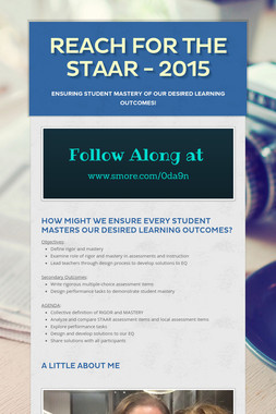 Reach for the STAAR - 2015