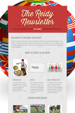 The Reidy Newsletter