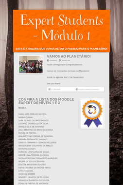 Expert Students - Módulo 1