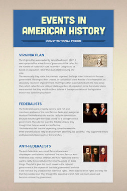 Events in American History