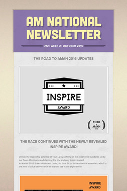 AM National Newsletter