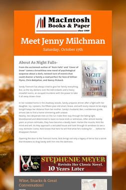 Meet Jenny Milchman